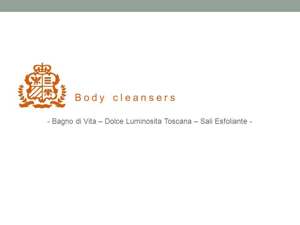 - Bagno di Vita – Dolce Luminosita Toscana – Sali Esfoliante - Body cleansers