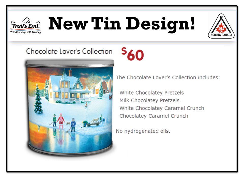 New Tin Design!