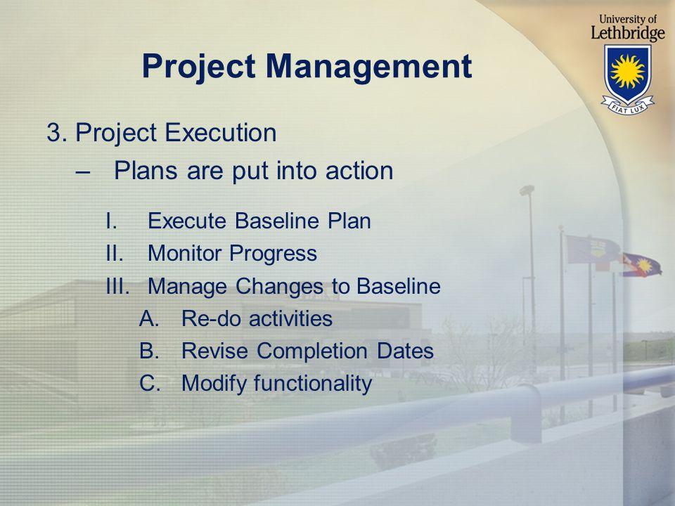 Project Management 3.