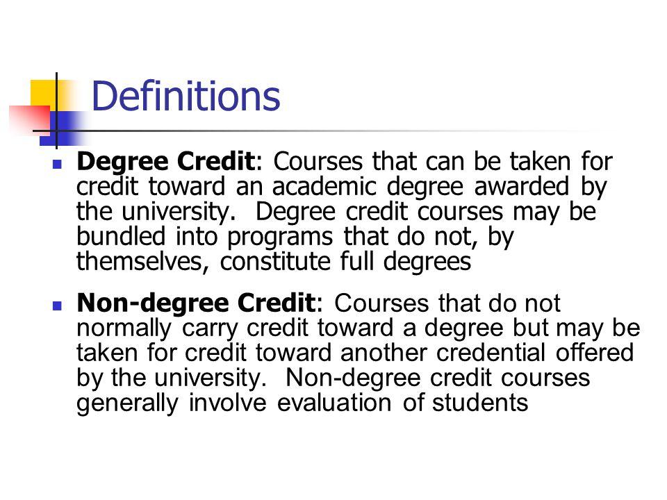 Registrations N Range Mean Degree Credit (23)20 104-18,738 4,749 Non-degree Credit (19)1134-3,0151,043 Non-Credit (18)11 3-3,770 948