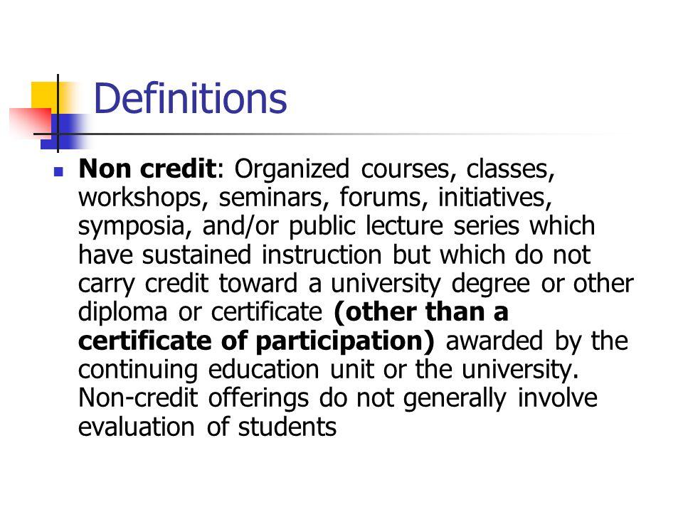 Degree Credit Formats (N=23) N %.