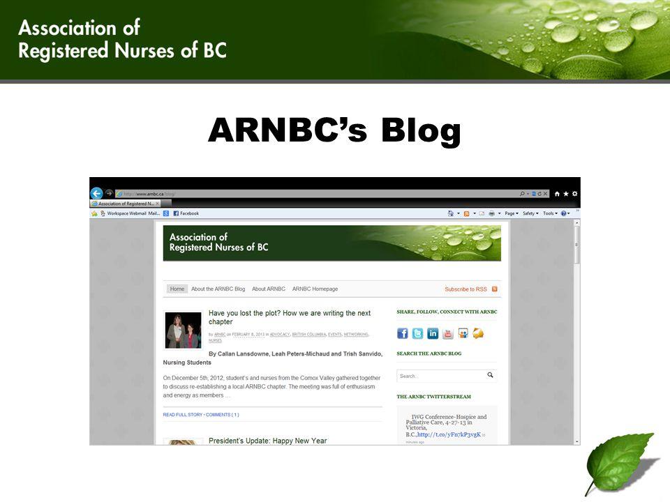 ARNBC's Blog