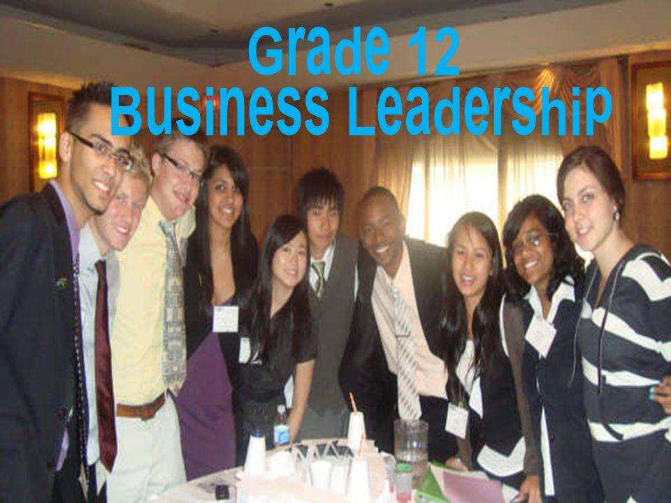 Grade 12 International Business