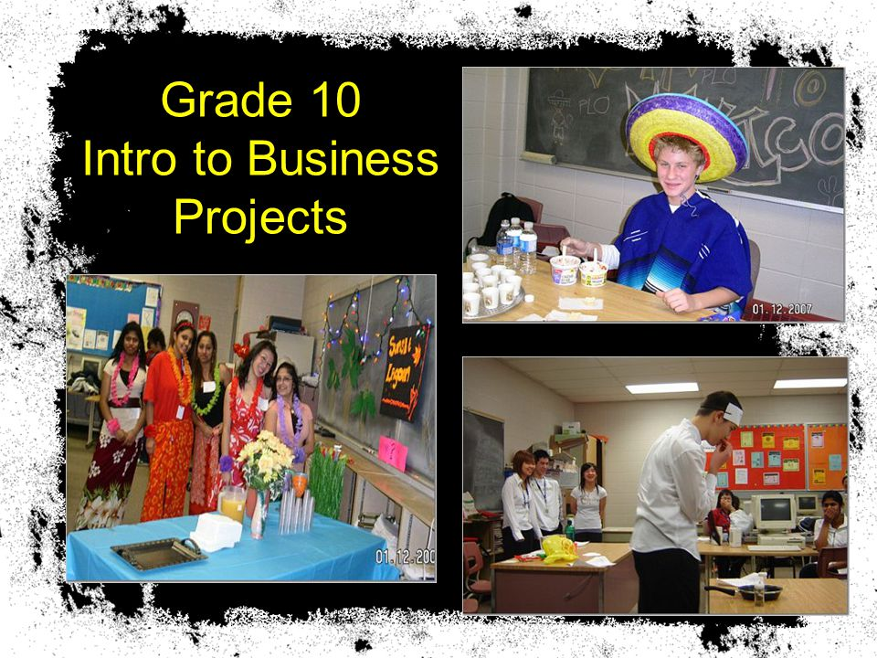 Grade 10 Intro to Business