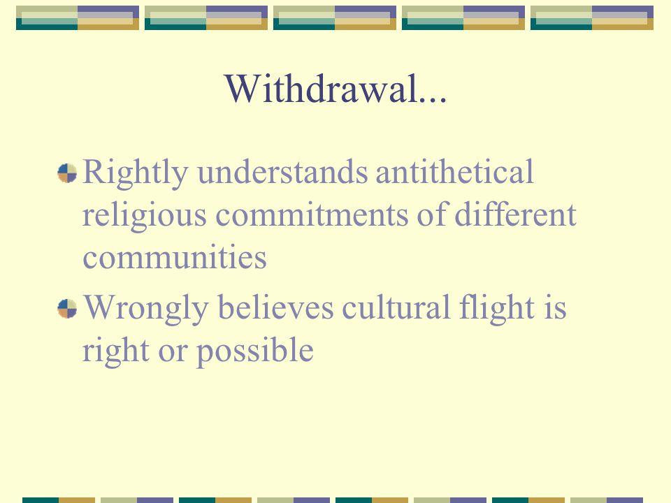 Withdrawal...
