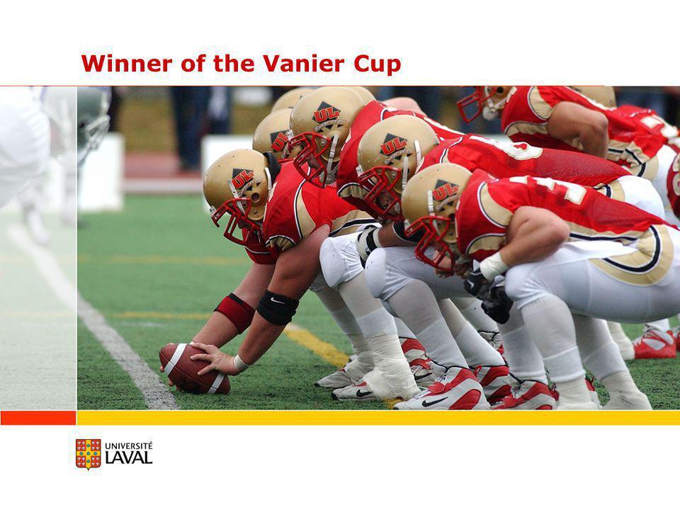 Winner of the Vanier Cup