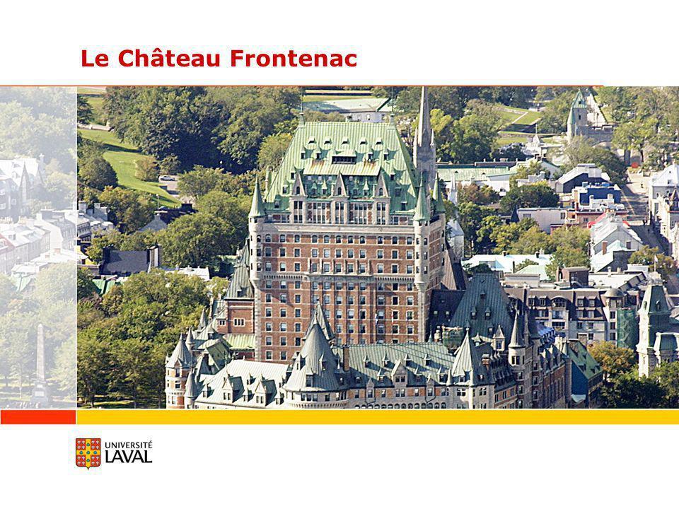 Le Château Frontenac