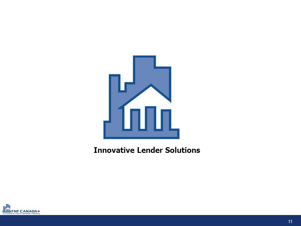 11 Innovative Lender Solutions