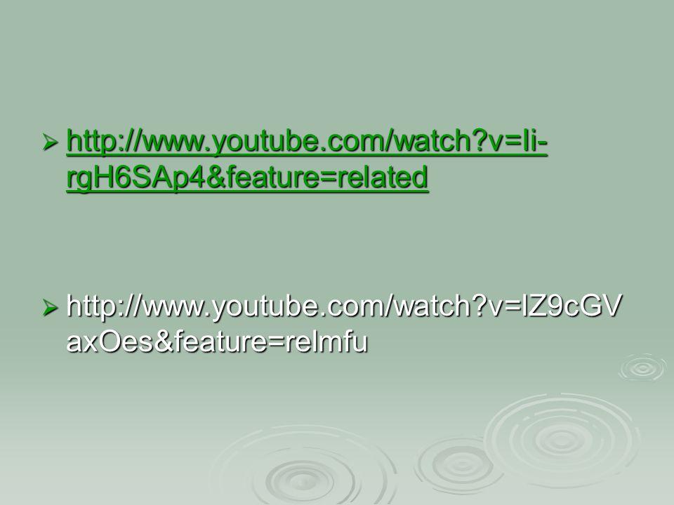  http://www.youtube.com/watch?v=Ii- rgH6SAp4&feature=related http://www.youtube.com/watch?v=Ii- rgH6SAp4&feature=related http://www.youtube.com/watch