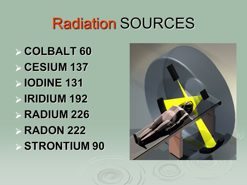 Loss of Radioactive Material:  Considered an emergency  Search initiated by radiation staff  Nothing moves from the room while client has radioactive material in place  If found radioactive material use forceps & gloves  Notify Atomic Energy Canada