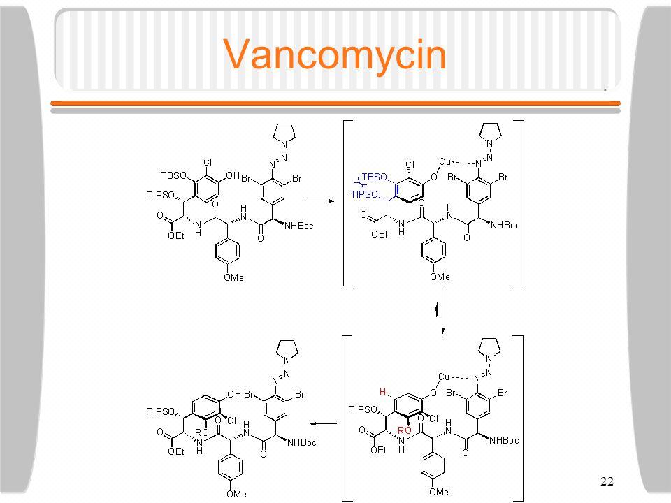 22 Vancomycin