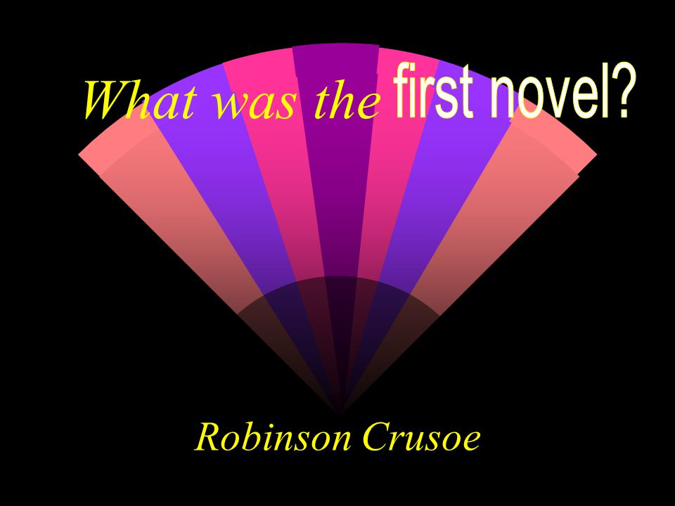 What was the Robinson Crusoe