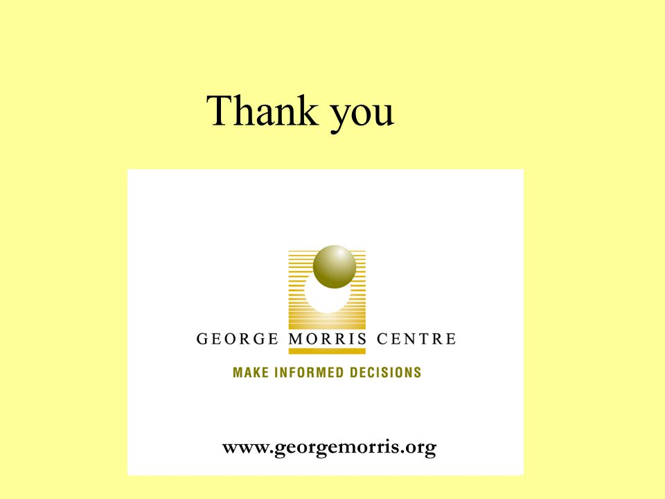 www.georgemorris.org Thank you