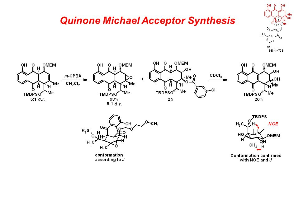 Quinone Michael Acceptor Synthesis