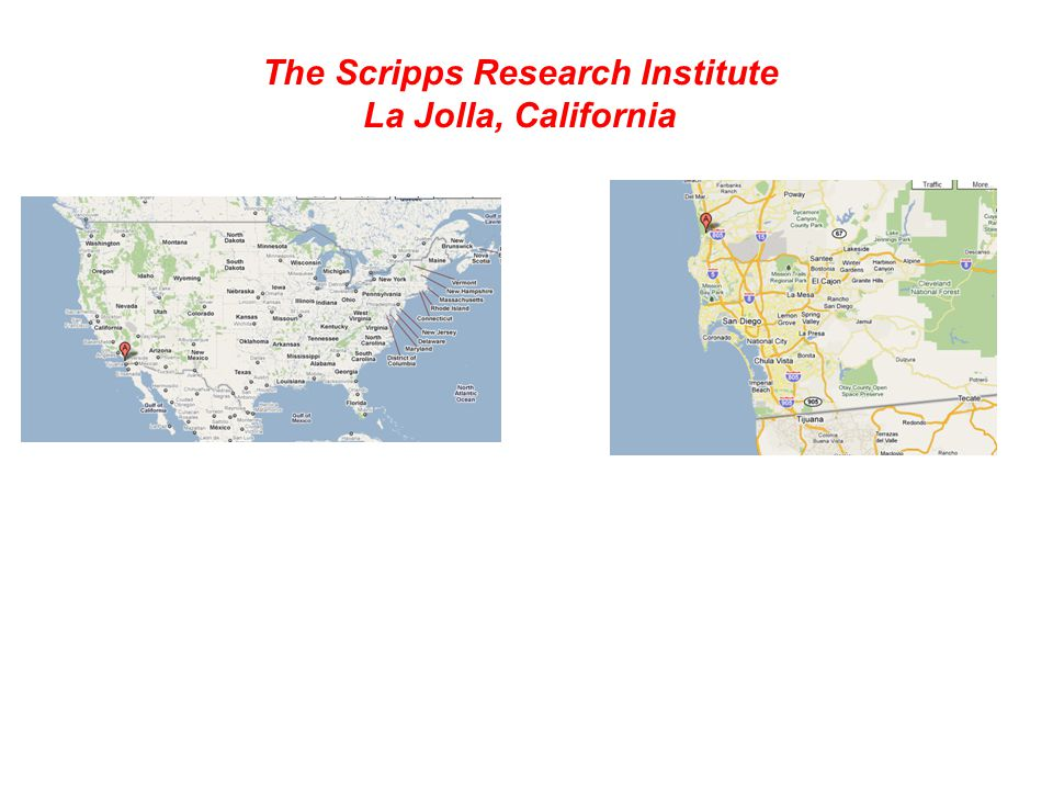 The Scripps Research Institute World s largest, private non-profit biomedical research facility Founded in 1961 by Frank Dixon, M.D.