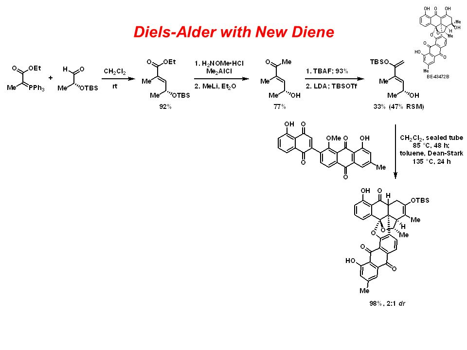 Diels-Alder with New Diene