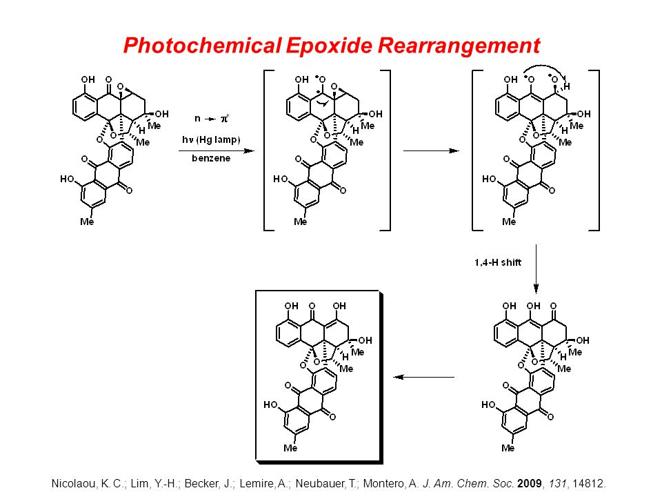 Photochemical Epoxide Rearrangement Nicolaou, K.
