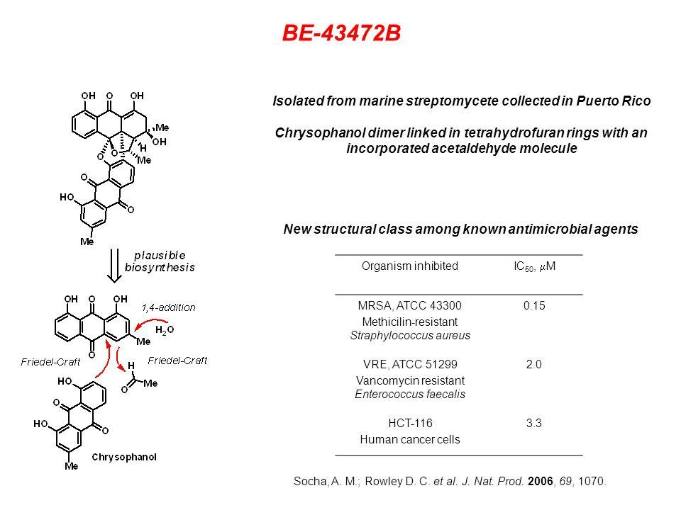BE-43472B Retrosynthesis