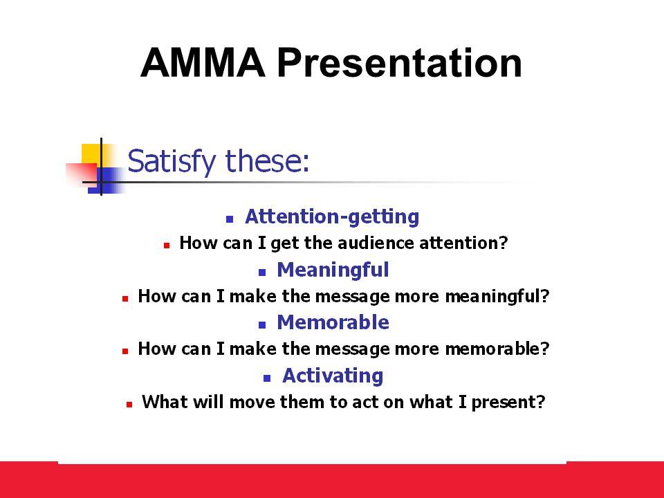 AMMA Presentation
