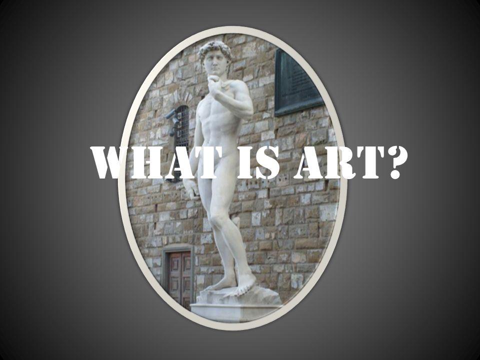 Am I an artist.So…what is my art.