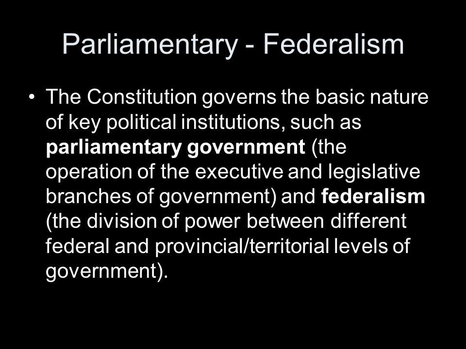Constitutional Supremacy.