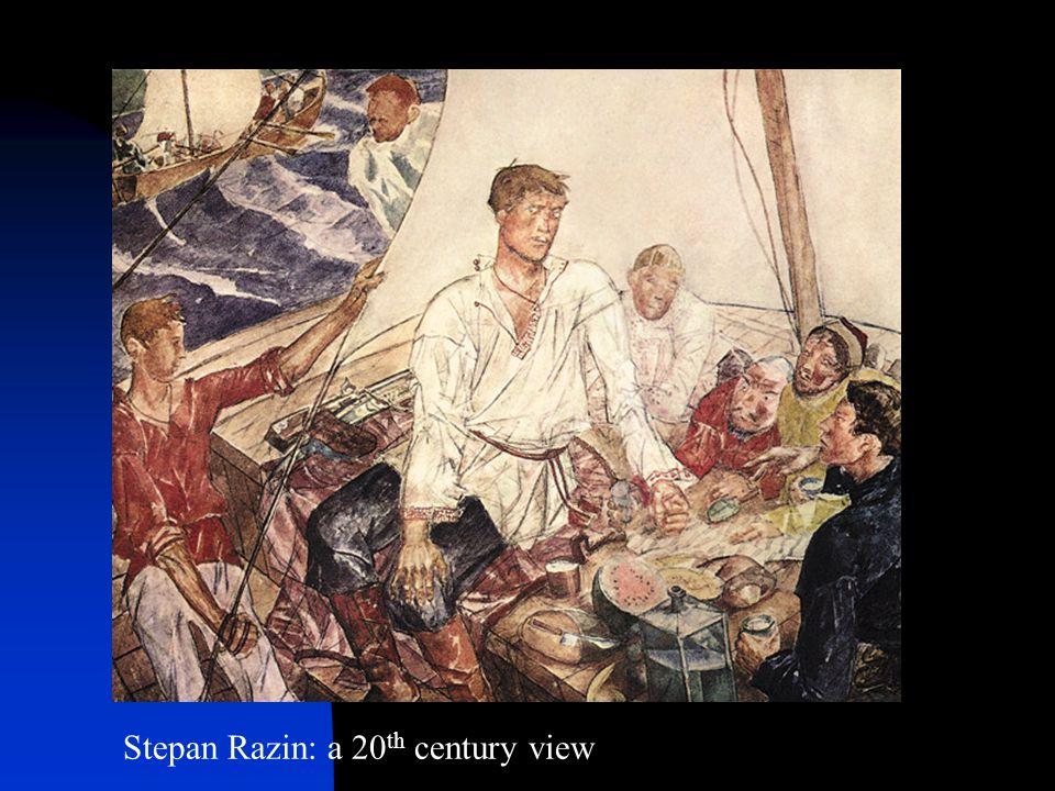 Stepan Razin: a 20 th century view