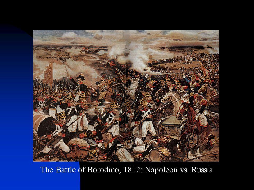 The Battle of Borodino, 1812: Napoleon vs. Russia