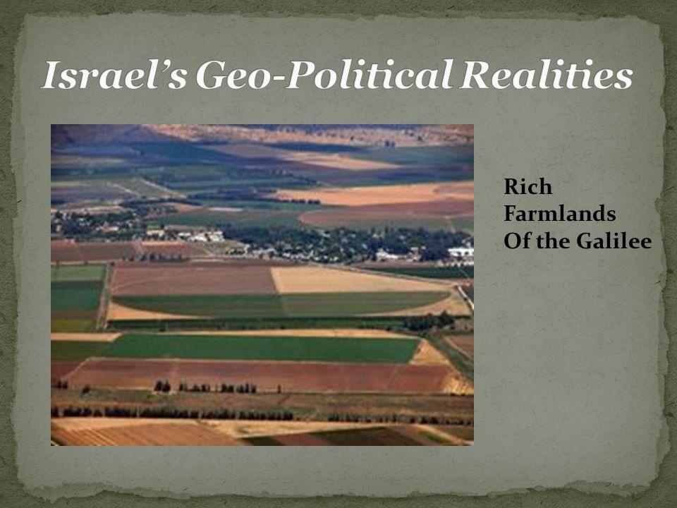 Rich Farmlands Of the Galilee
