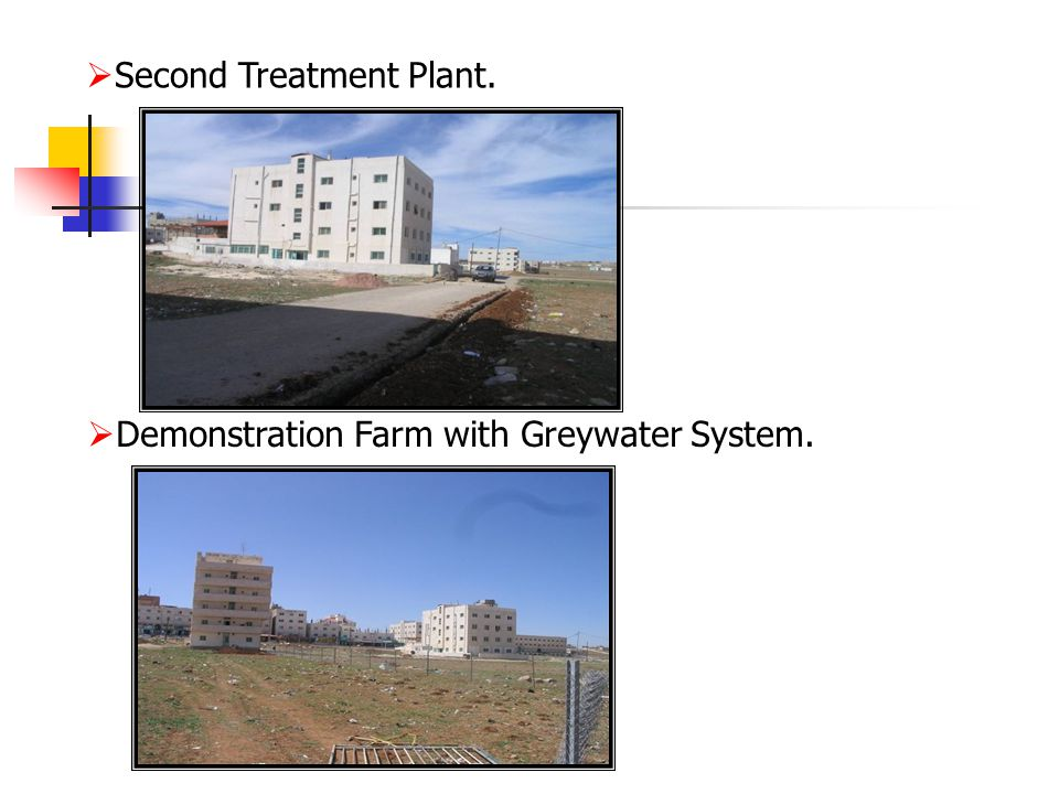  Second Treatment Plant.  Demonstration Farm with Greywater System.