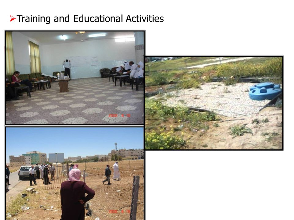  Training and Educational Activities