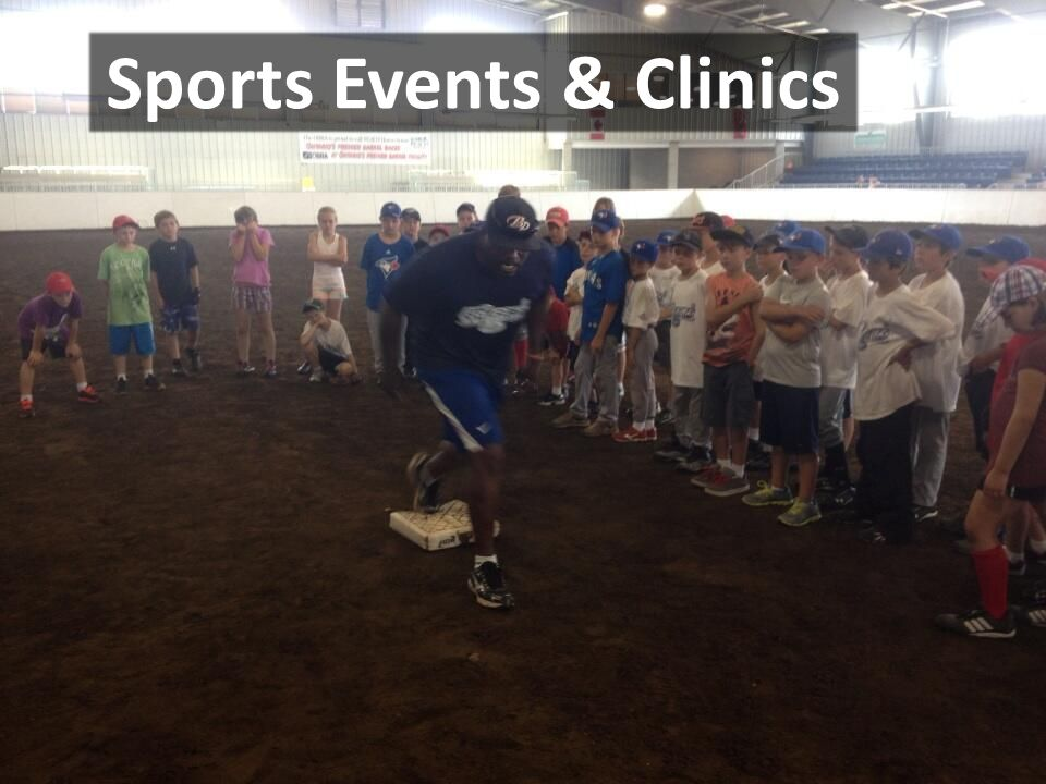 Sports Events & Clinics