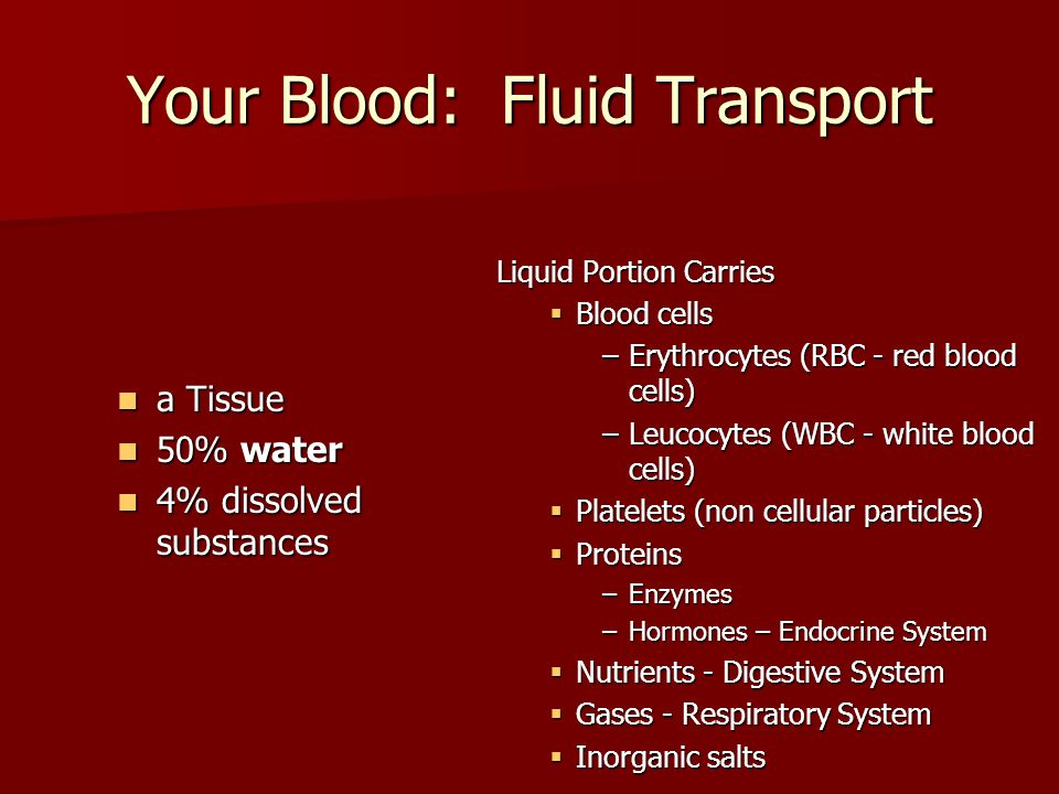 Parts of the Blood