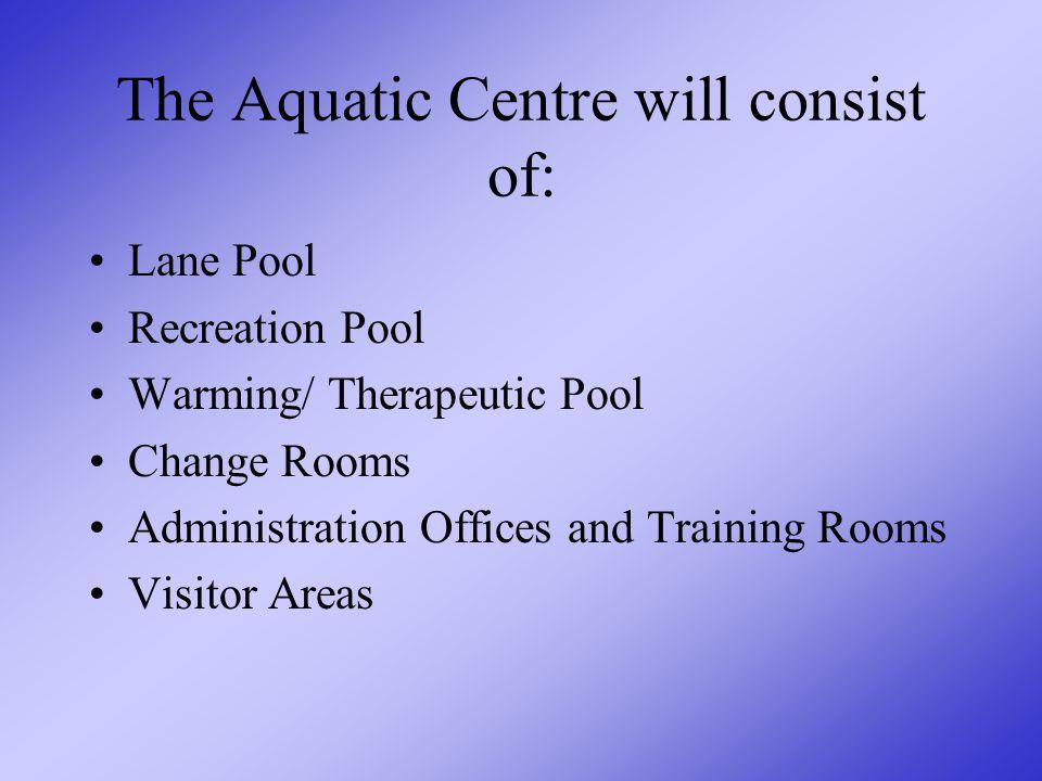 Components of an Aquatic Centre