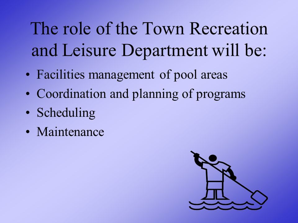 Recreation and Leisure Department Integration