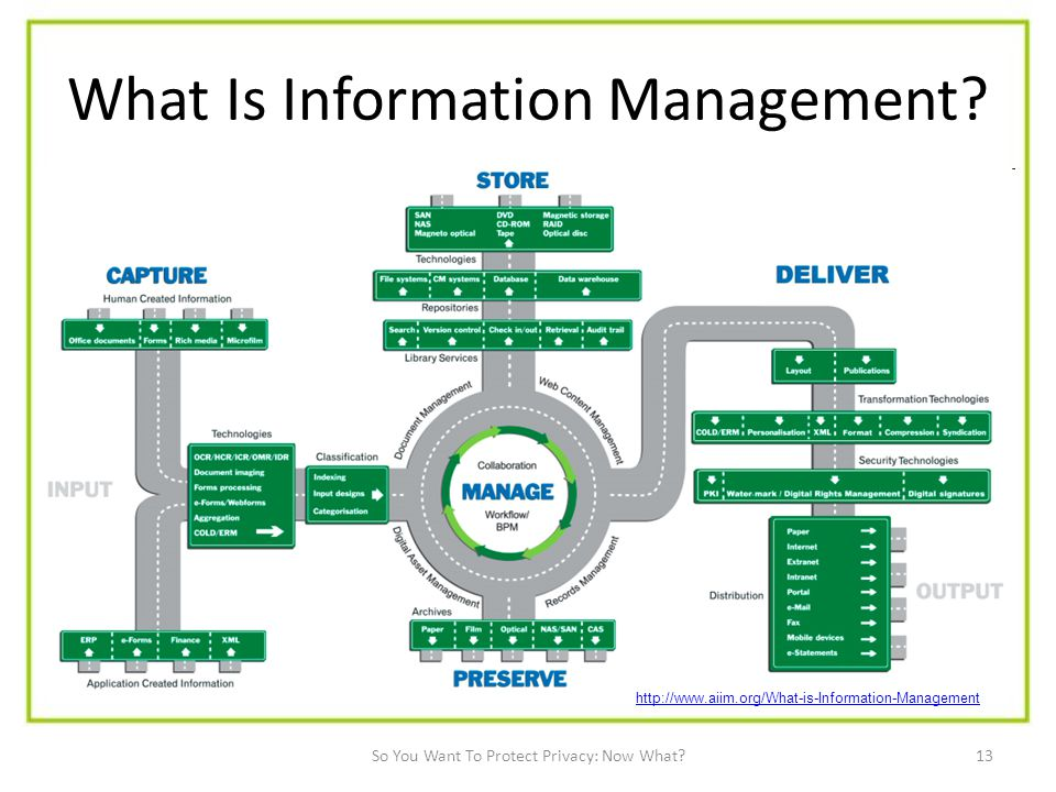 13 What Is Information Management.