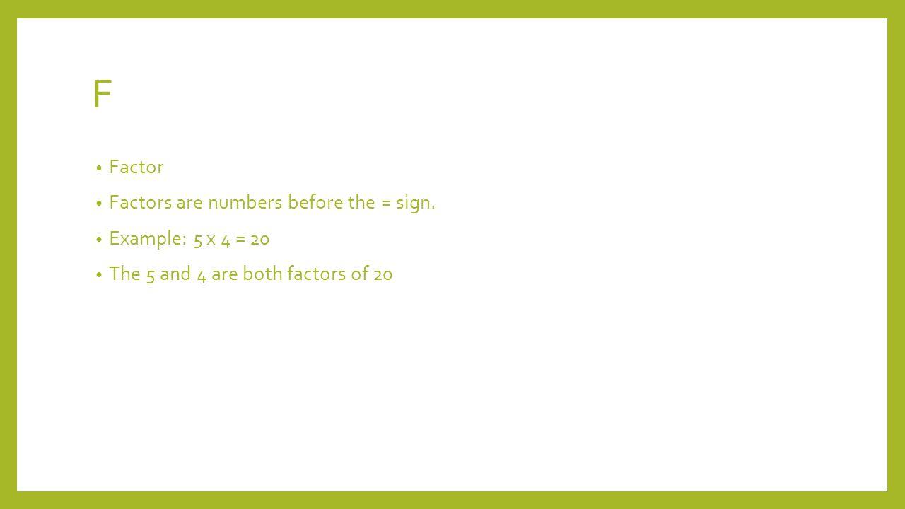 Q Quadrants The four(quad) squares of a x and y graph