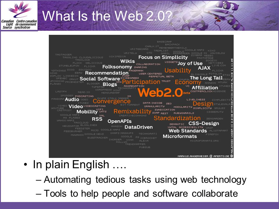 What Is the Web 2.0. In plain English ….