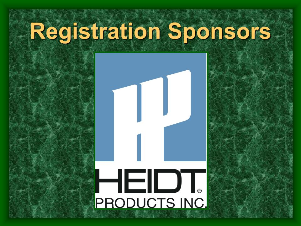 Registration Sponsors