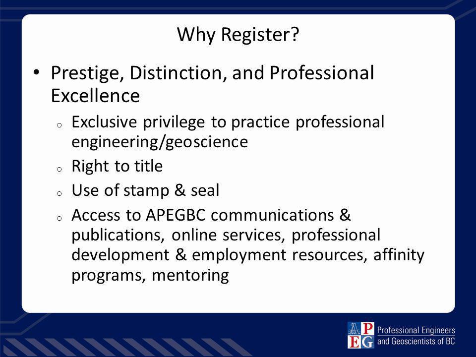 Why Register.