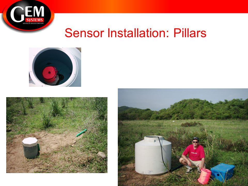 Sensor Installation: Pillars