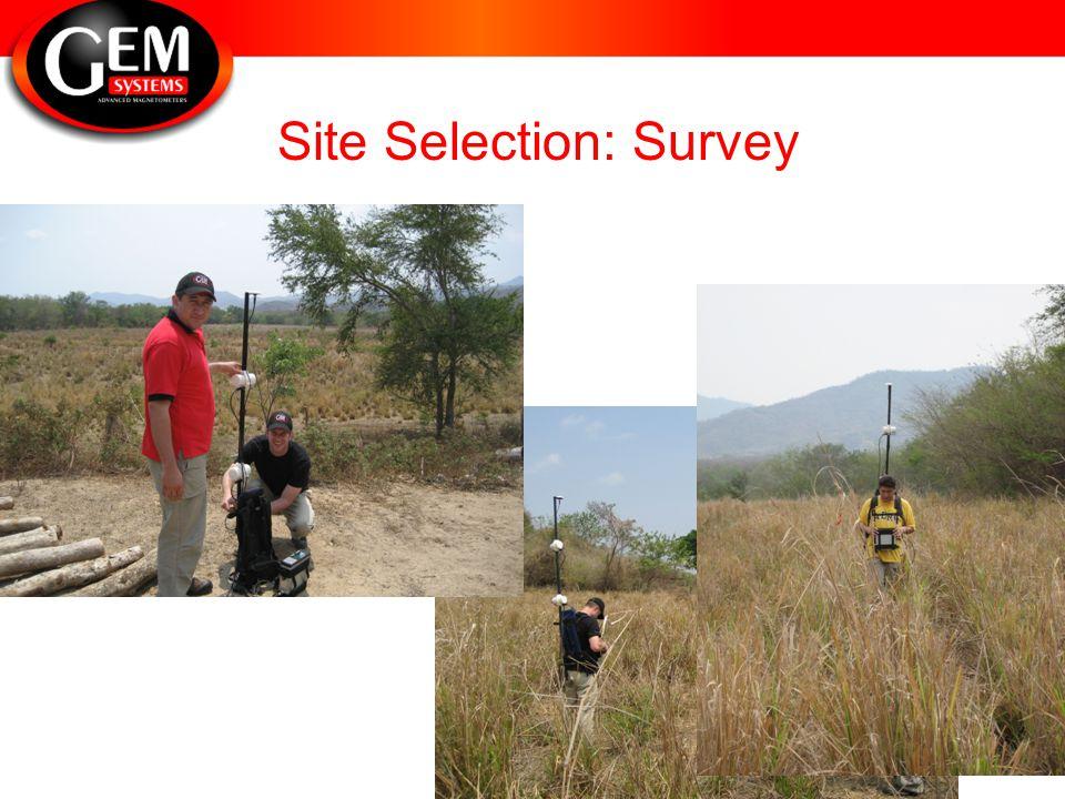 Site Selection: Survey
