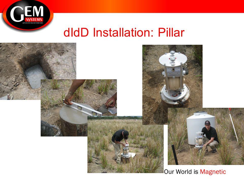dIdD Installation: Pillar