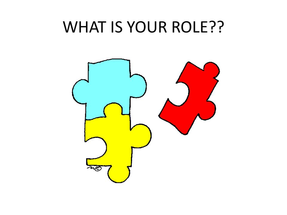 WHAT IS YOUR ROLE