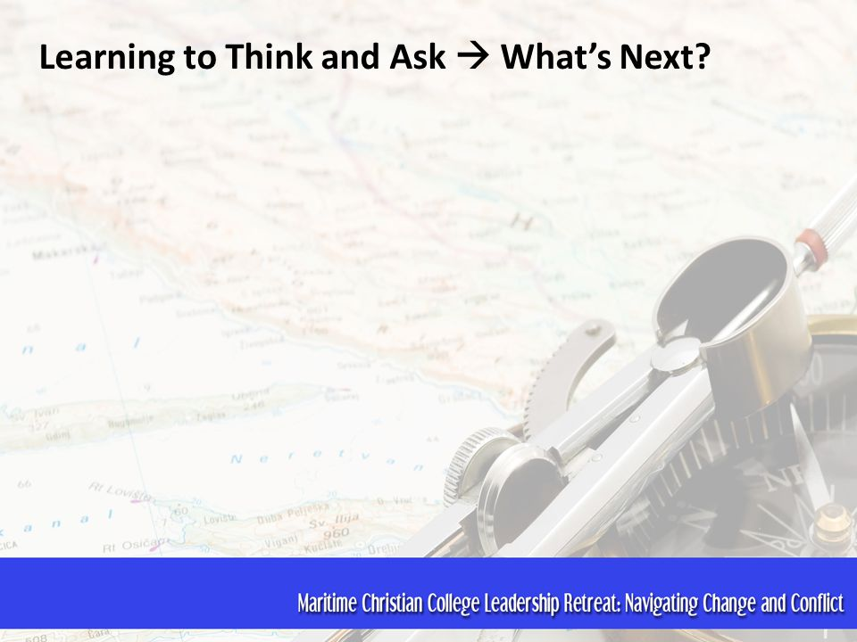 Learning to Think and Ask  What's Next