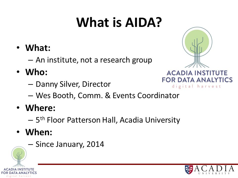 What is AIDA.
