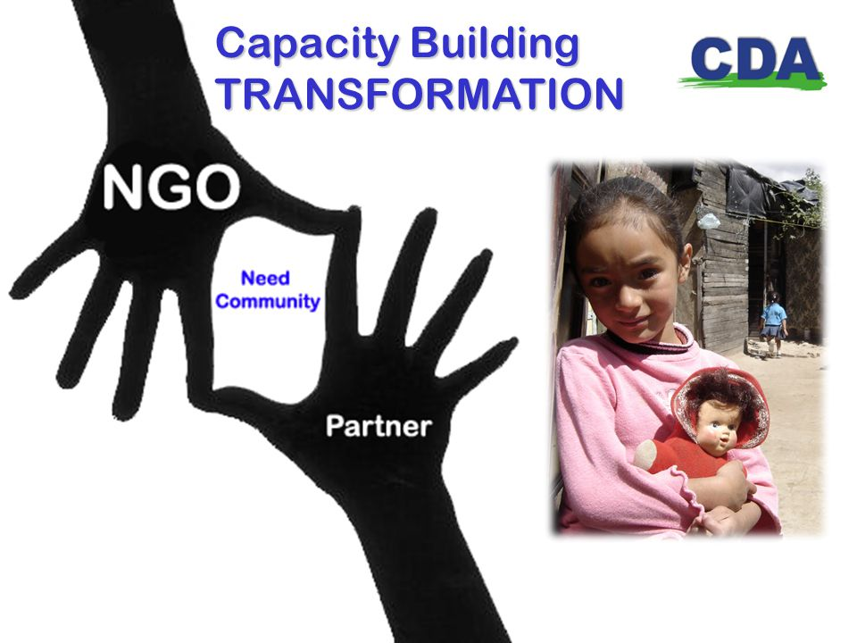 Capacity Building TRANSFORMATION
