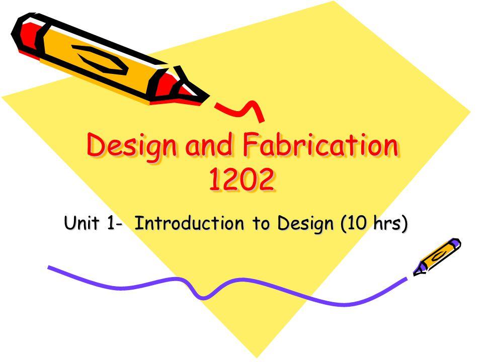 The Design Project and Design Portfolio