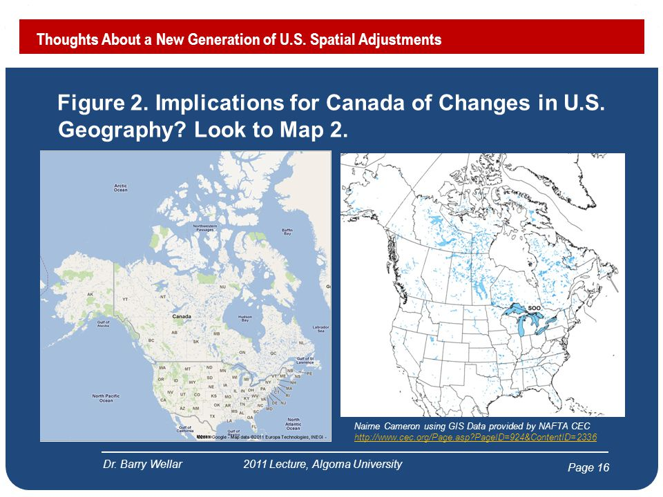 Page 16 Figure 2. Implications for Canada of Changes in U.S.