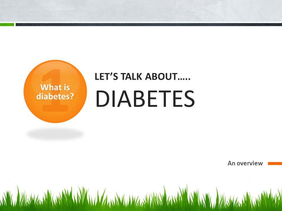 Diabetes is a disease that occurs when the body cannot control how much sugar (glucose) is in the blood.