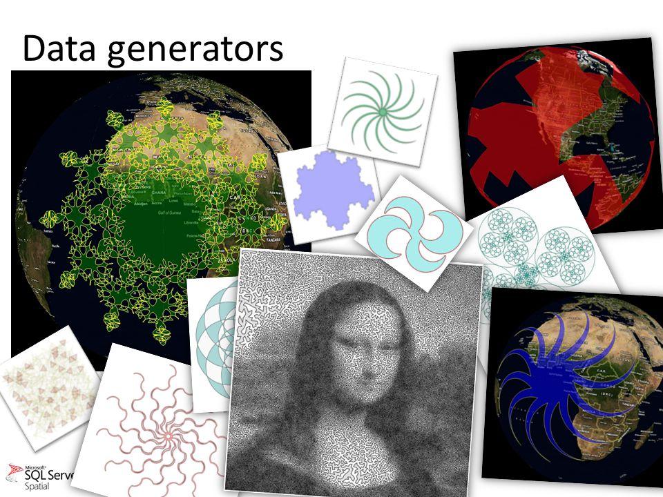 Data generators